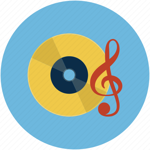 dvd, entertainment, multimedia, music, music dvd, music player icon