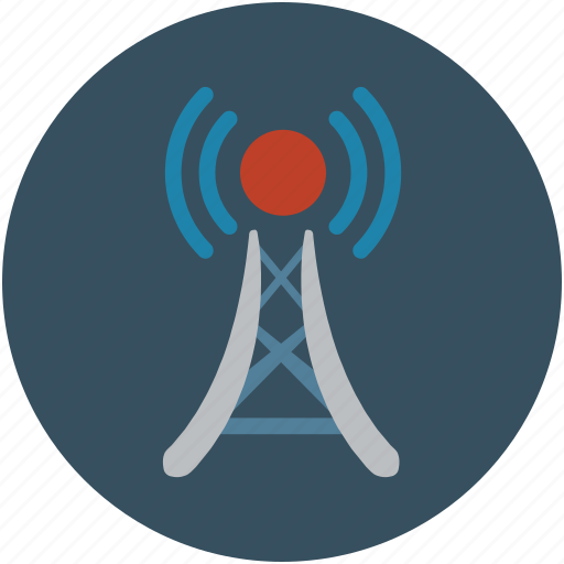 internet, network, radio signal, signals, tower signals, wifi, wireless icon