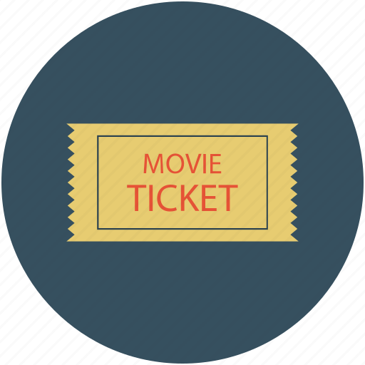 badge, label, move ticket label, movie ticket, offer tag icon