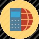 celestial globes, globe, international, internet, mobile, mobile globe, mobile world, online icon