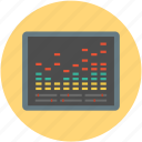 audio, equalizer, mixer, multimedia, music preferences, sound settings icon