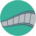 audio reel, film, media, movie, reel, video, video reel icon