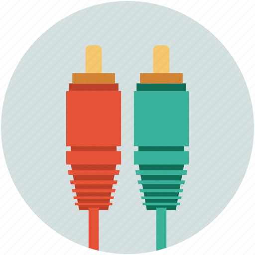 cable, connect cable, connection, input wire, output wire, plug cable, sound cable icon
