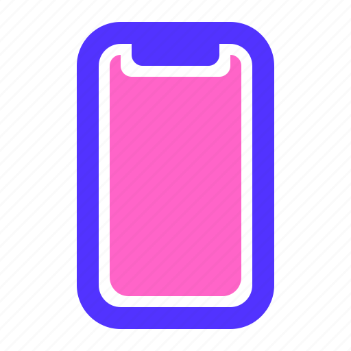 device, iphone, phone, x icon