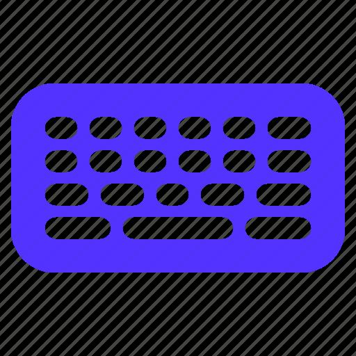 device, keyboard icon