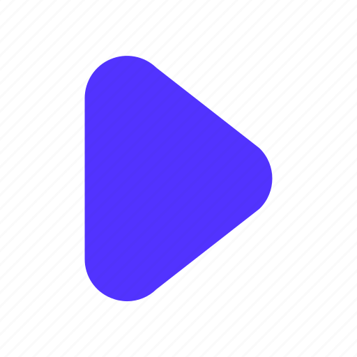 button, music, play, player, video icon