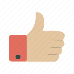 hand, like, thumb up, thumbs up icon