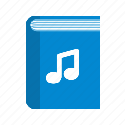 book, library, music book, notebook, read, reading, study icon
