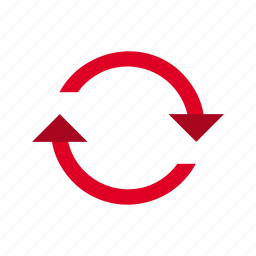 refresh, reload, repeat, update icon
