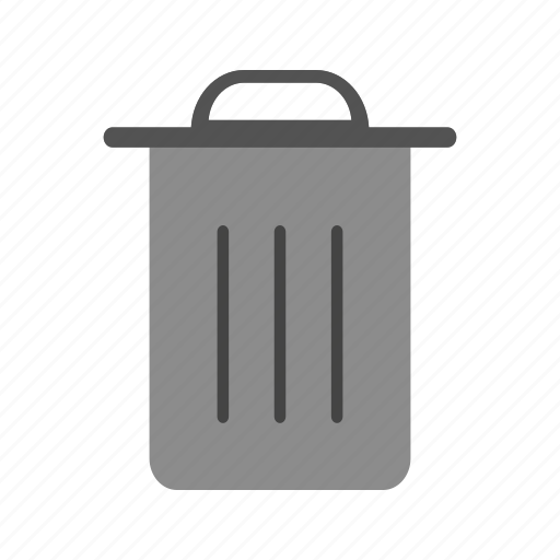 delete, dust bin, recycle bin, remove icon