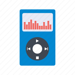 audio, movie, multimedia, music, play, player, video icon