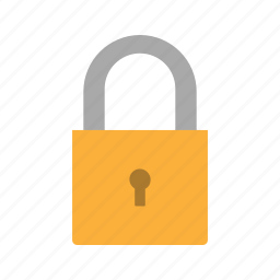 lock, locked, pad lock, padlock icon