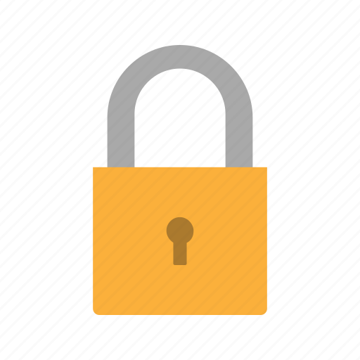 locked, padlock, privacy, protect, safe, safety icon