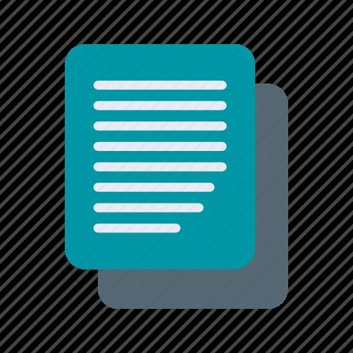 copy, document, file, paste icon