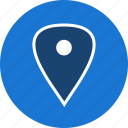 gps, location, map, marker, pin, placeholder, pointer icon