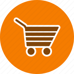 cart, shopping cart, trolley icon