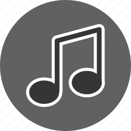 audio, music, music note, sound icon