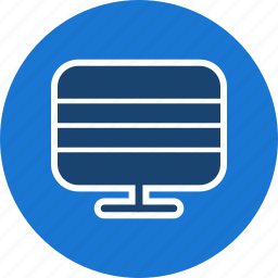 display, lcd, led, monitor, screen, television, tv icon