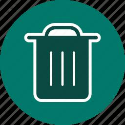 can, cancel, delete, dustbin, garbage, remove, trash icon