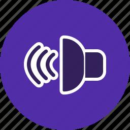audio, media, multimedia, play, player, sound, volume icon