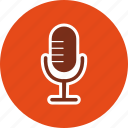audio, mic, microphone, recording, sound, speak, voice icon
