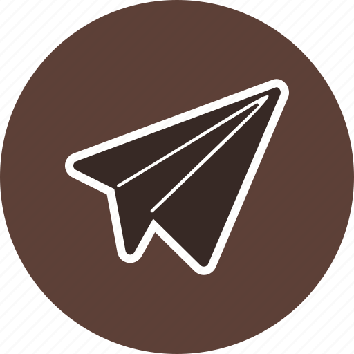 airplane, flight, fun, paper, paper plane icon