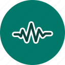 audio, music, sound beat, sound wave icon