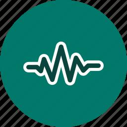 audio, music, sound beat, sound wave icon