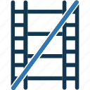 film, film reel, image reel, movie reel, no movie, no reel icon