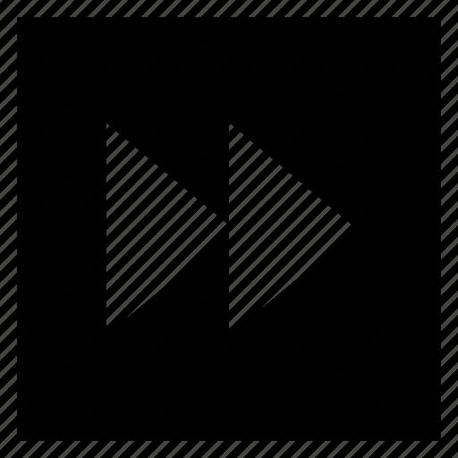 arrows, controls, forward, media, music, next, right icon