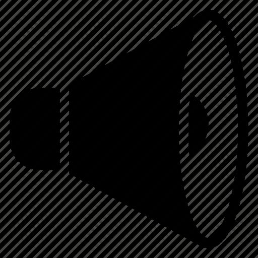 announcement, audio, broadcast, device, loudspeaker, sound, speaker icon