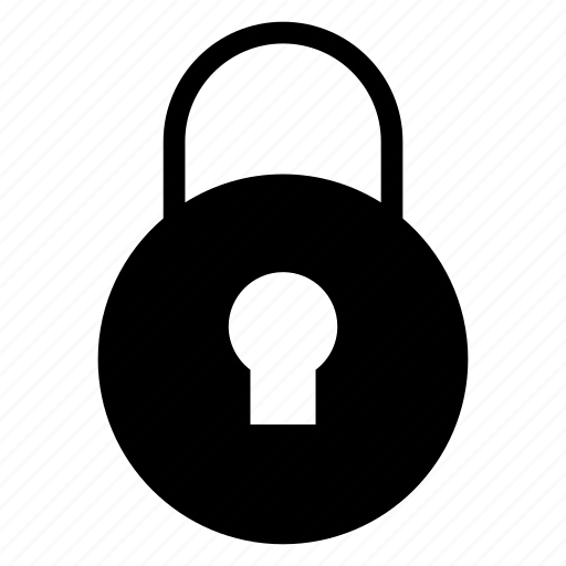 keyhole, lock, private, protection, safe, secure, security icon