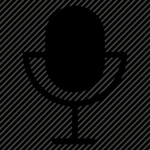 mic, microhone, presentation, recording, sound, voice icon