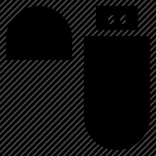 connector, data, drive, flash, memory, storage, usb icon