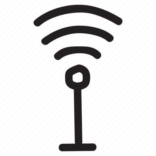 connection, device, internet, network, router, signal, technology icon