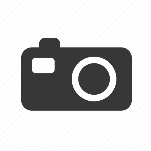 camera, compact camera, digital camera, electronics, multimedia, raw, simple icon