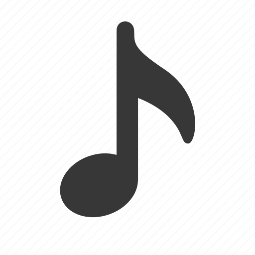 audio, electronics, multimedia, music note, musical note, raw, simple, sound icon