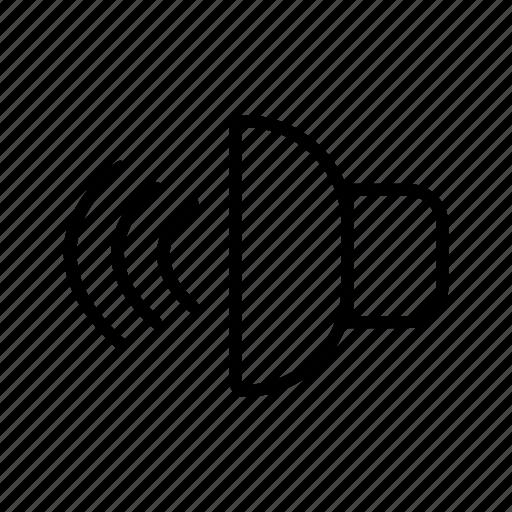 Audio, loud speaker, speaker icon - Download on Iconfinder