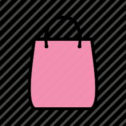 shop, shopper bag, shopping bag, tote bag icon