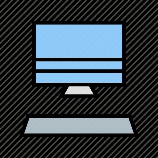 computer, desktop, display, laptop, monitor, pc, screen icon