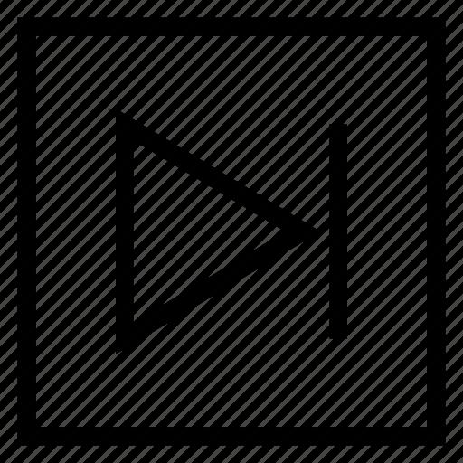 arrows, botton, forward, media, multimedia, next, player icon