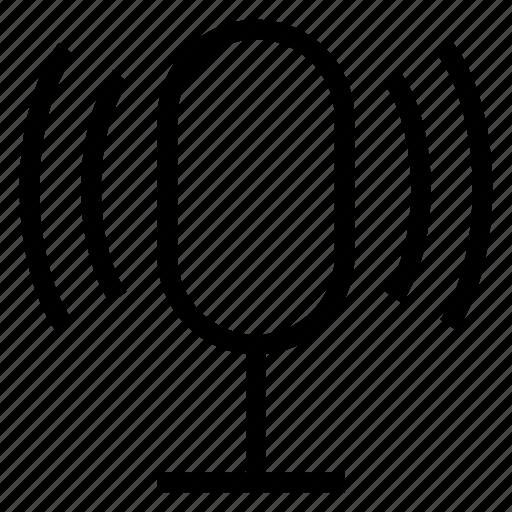 audio, multimedia, music, record, recording, sound, voice icon