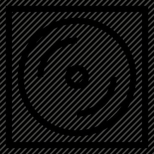cd, disk, dj, dvd, music, reader, storage icon