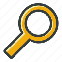 find, magnifier, search, seo