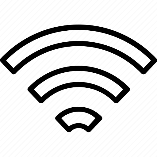 access, internet, line, multimedia, network, signal, technology, wi-fi, wifi icon