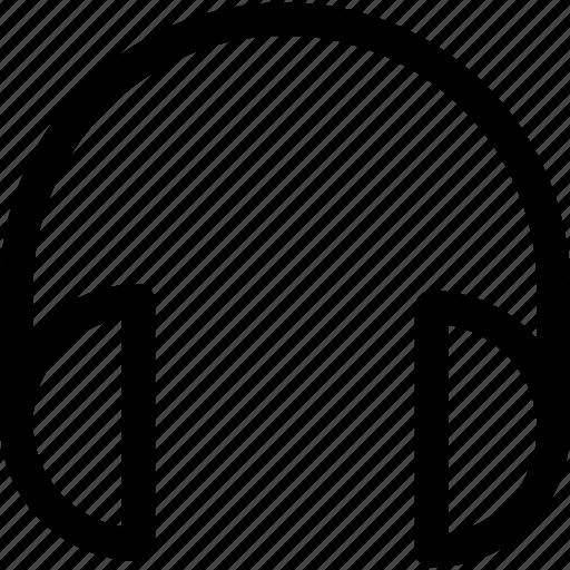 headphones, multimedia, ui icon