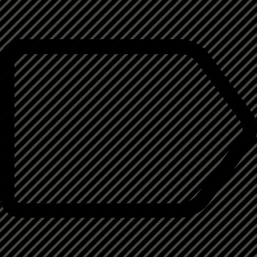 multimedia, tag, ui icon