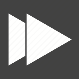 control, dvd, fast, forward button, music, sign, sound icon