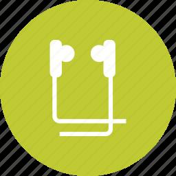 audio, ear, earphone, earphones, headphones, music, sound icon