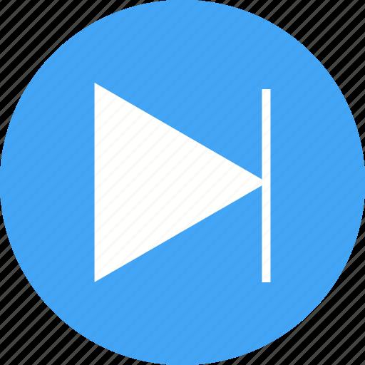 circle, forward, music, next, next button, player, track icon
